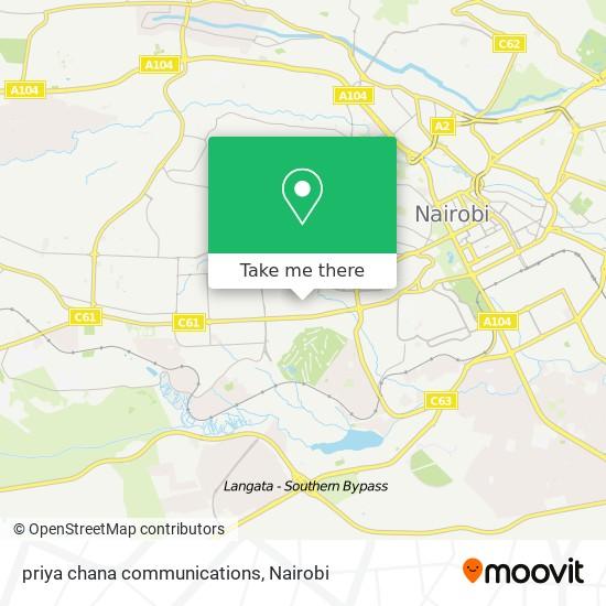 priya chana communications map