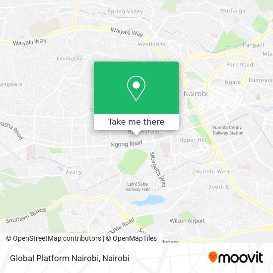 Global Platform Nairobi map
