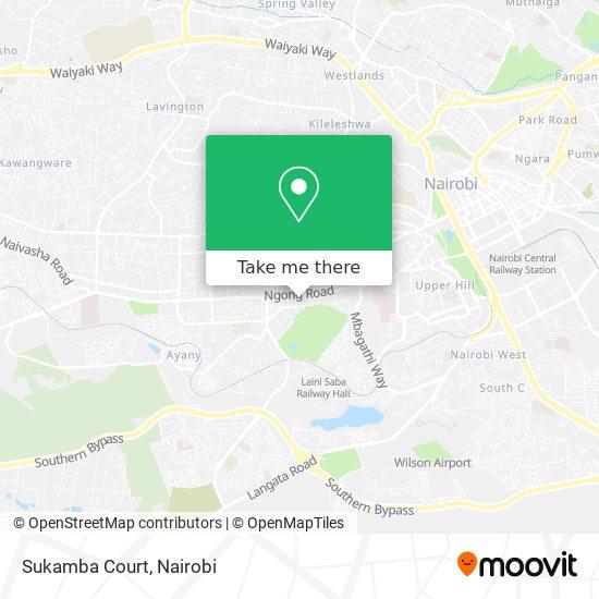 Sukamba Court map