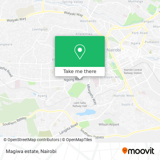 Magiwa estate map