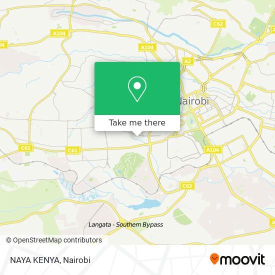 NAYA KENYA map