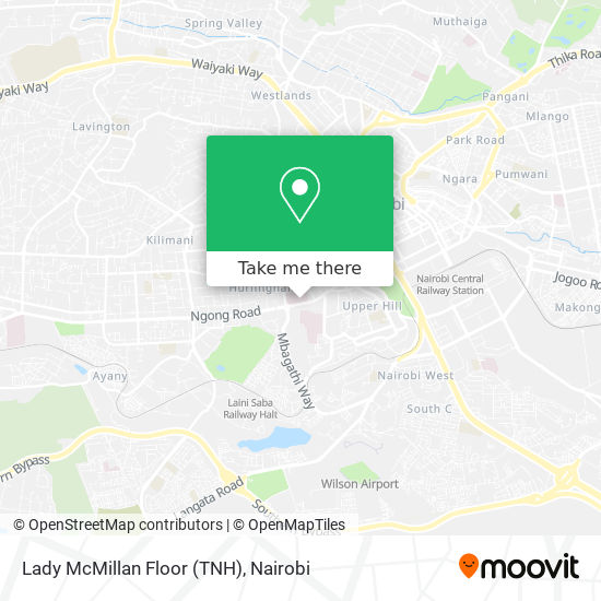 Lady McMillan Floor (TNH) map