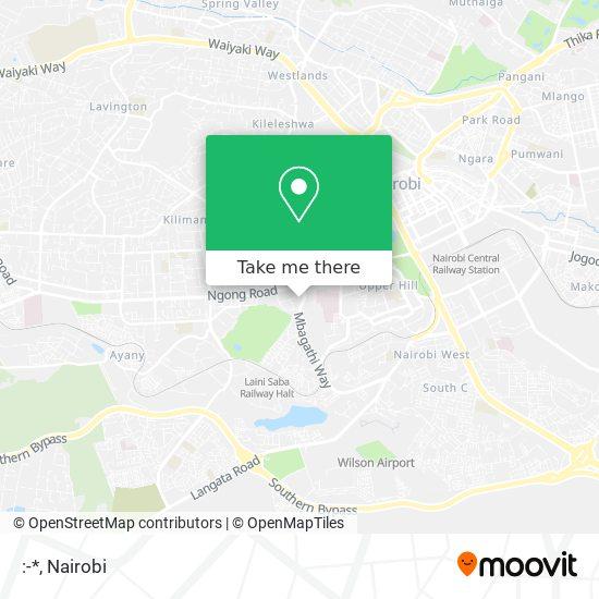 :-* map