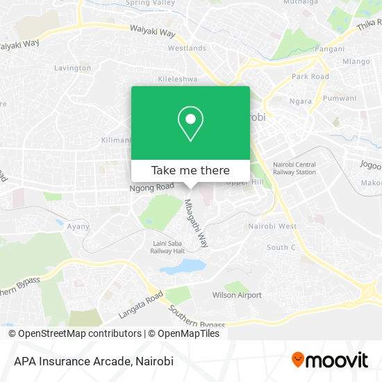 APA Insurance Arcade map