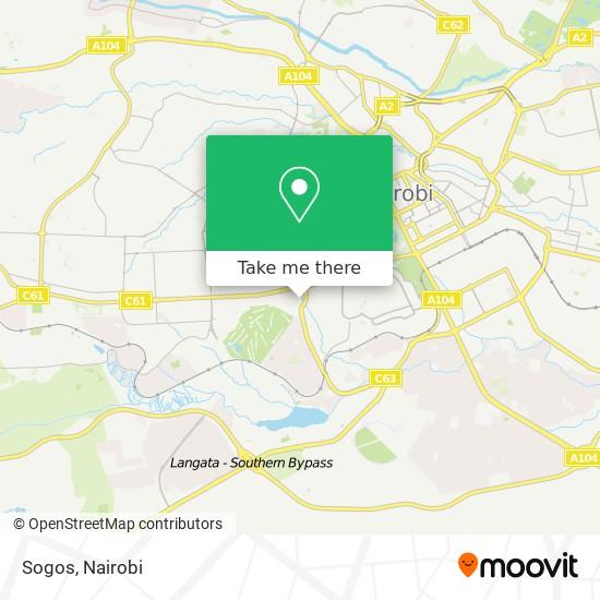 Sogos map