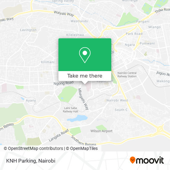 KNH Parking map