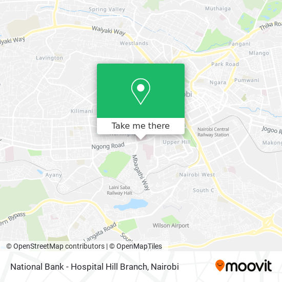 National Bank - Hospital Hill Branch map