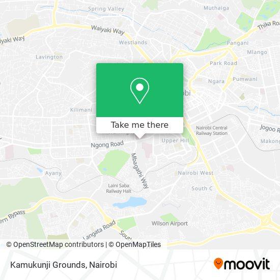 Kamukunji Grounds map