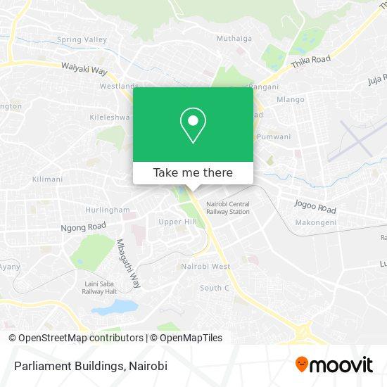 Parliament Buildings map