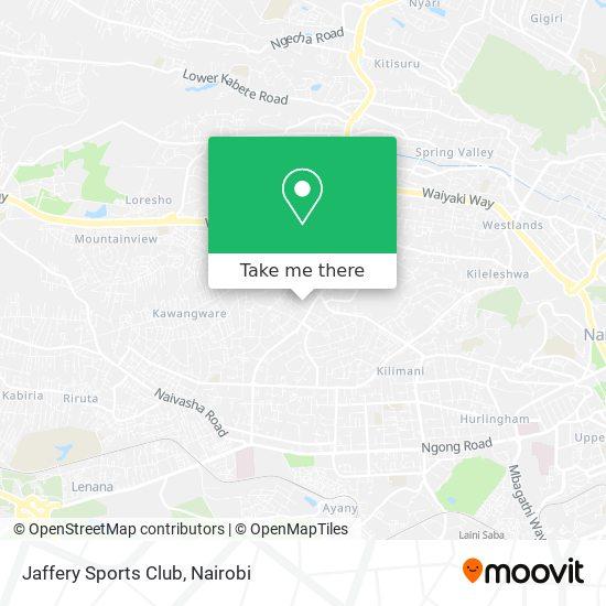 Jaffery Sports Club map