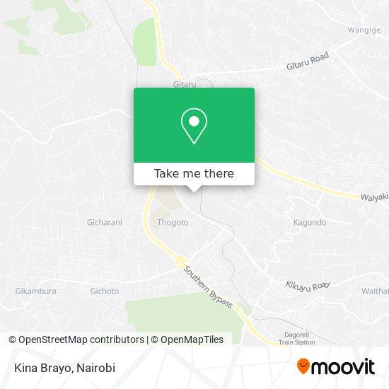 Kina Brayo map