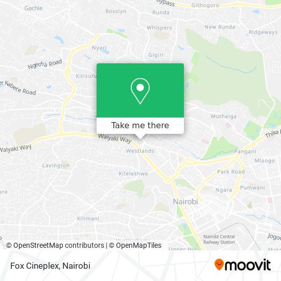 Fox Cineplex map