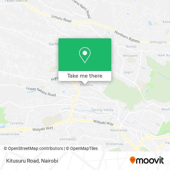 Kitusuru Road map