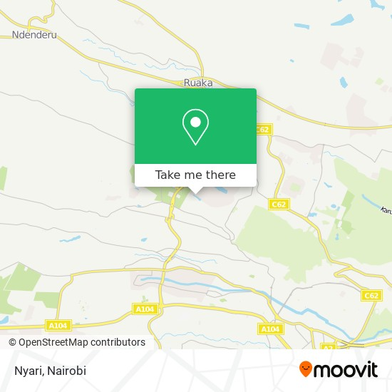 Nyari map