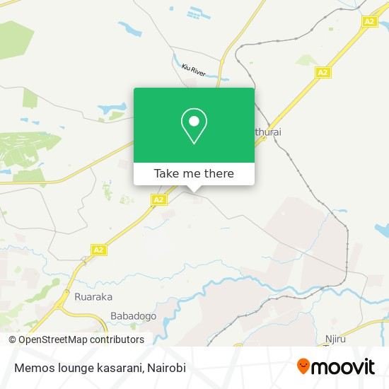 Memos lounge kasarani map