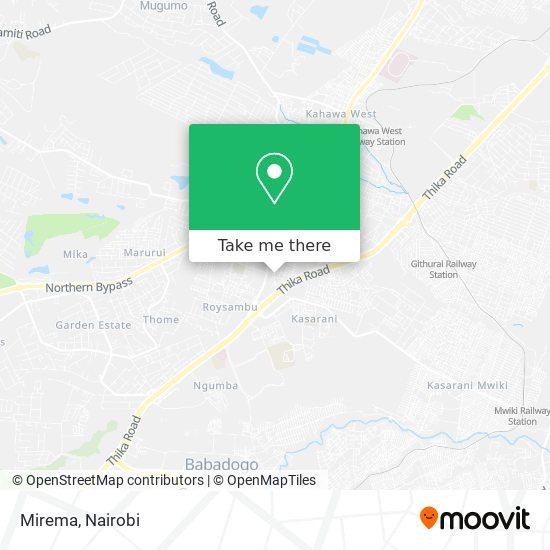 Mirema map