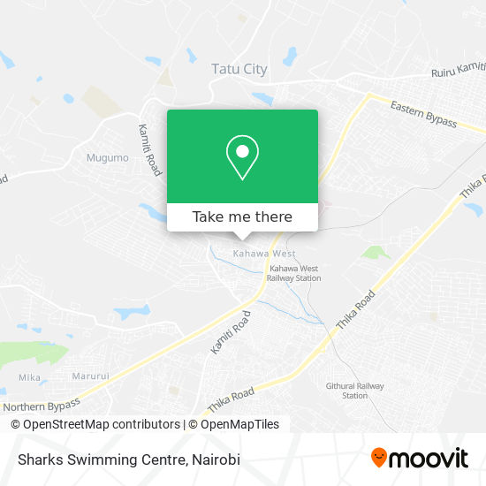 Sharks Swimming Centre map