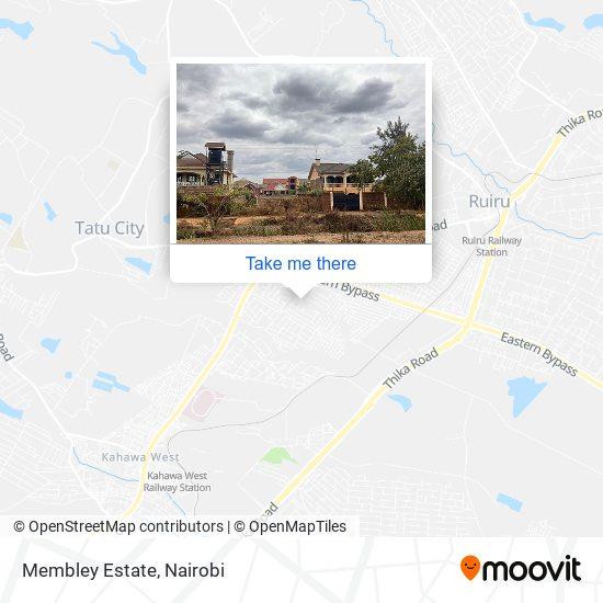 Membley Estate map