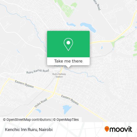 Kenchic Inn Ruiru map