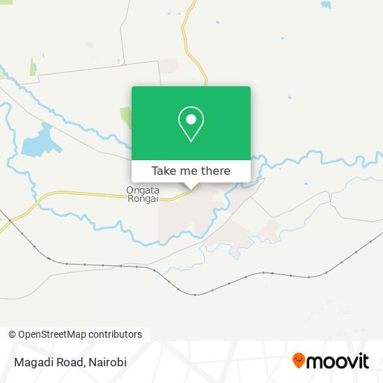 Magadi Road map