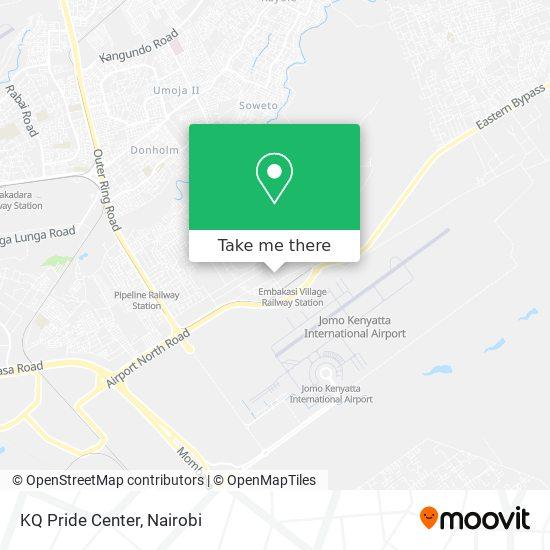 KQ Pride Center map