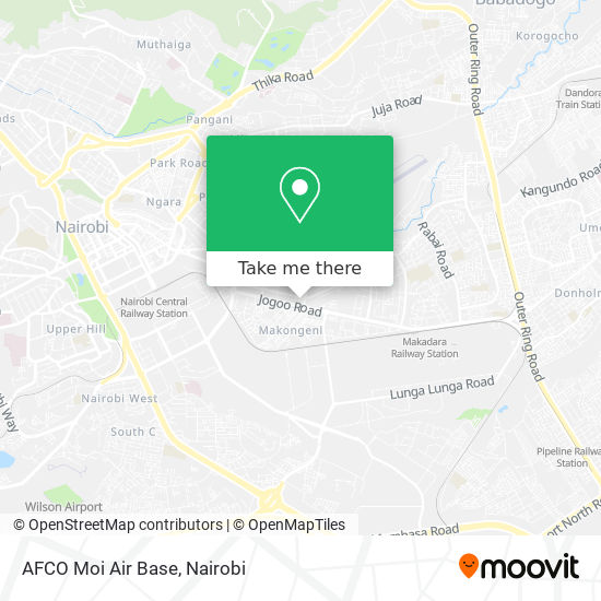 AFCO Moi Air Base map