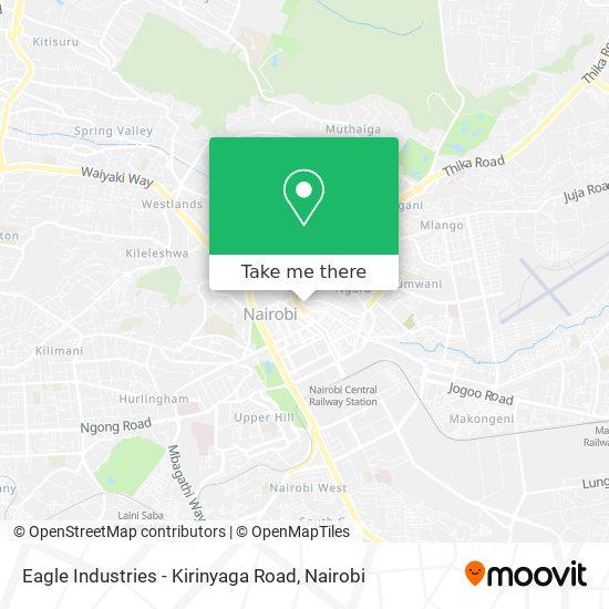 Eagle Industries - Kirinyaga Road map