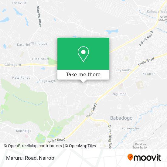 Marurui Road map