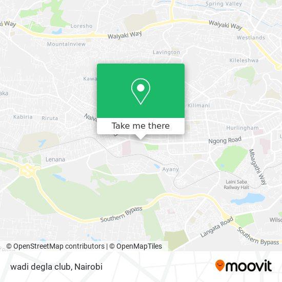 wadi degla club map