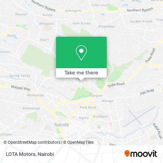 LOTA Motors map