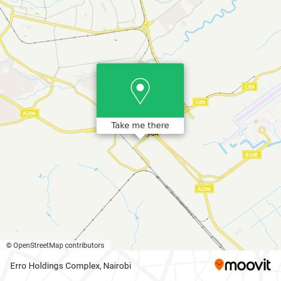 Erro Holdings Complex map