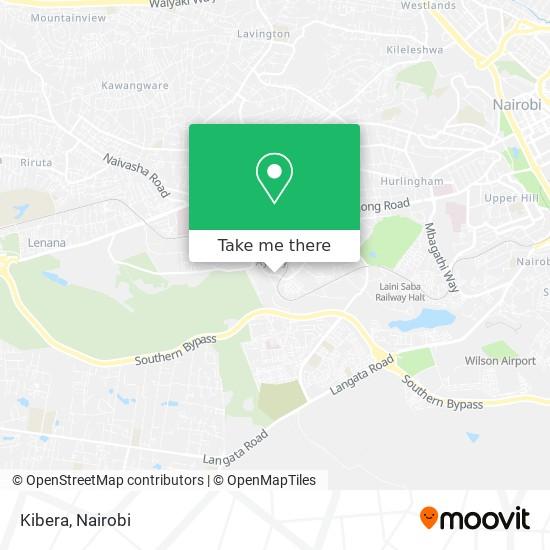 Kibera map