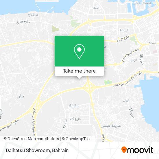 Daihatsu Showroom map