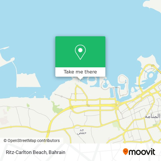 Ritz-Carlton Beach map