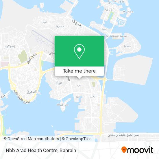 Nbb Arad Health Centre map