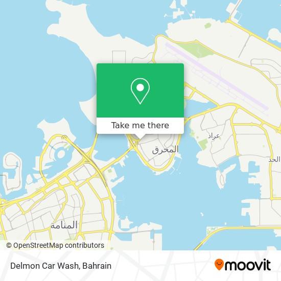 Delmon Car Wash map