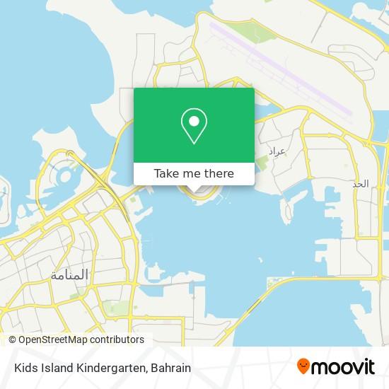 Kids Island Kindergarten map