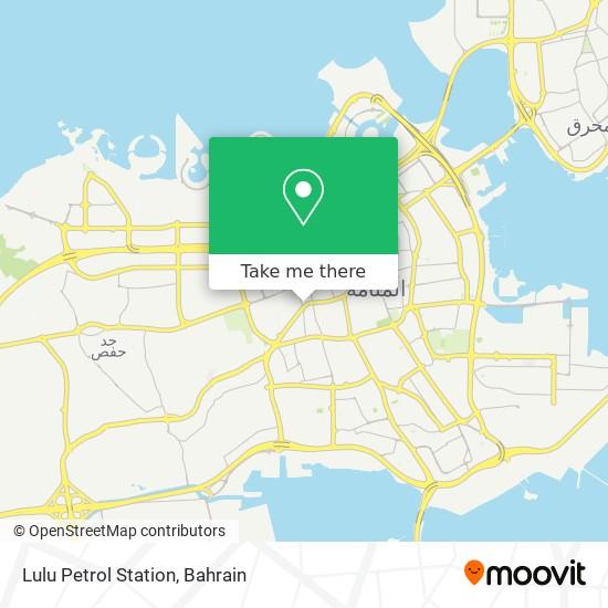 Lulu Petrol Station map