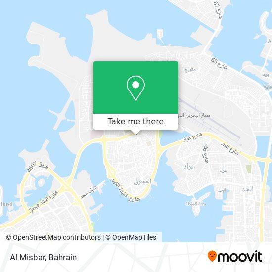 Al Misbar map