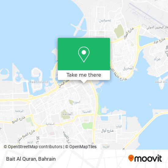Bait Al Quran map