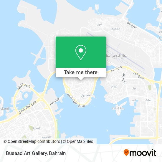 Busaad Art Gallery map