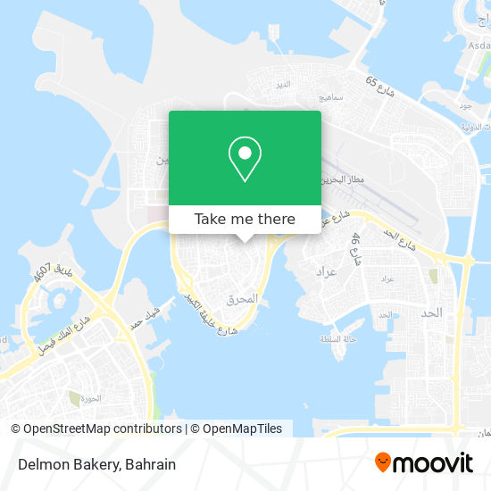 Delmon Bakery map