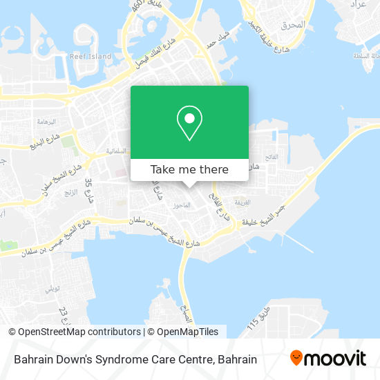Bahrain Down's Syndrome Care Centre map