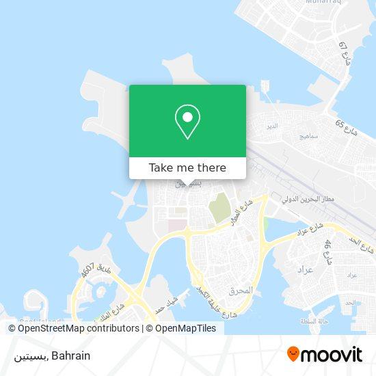 Busaiteen map