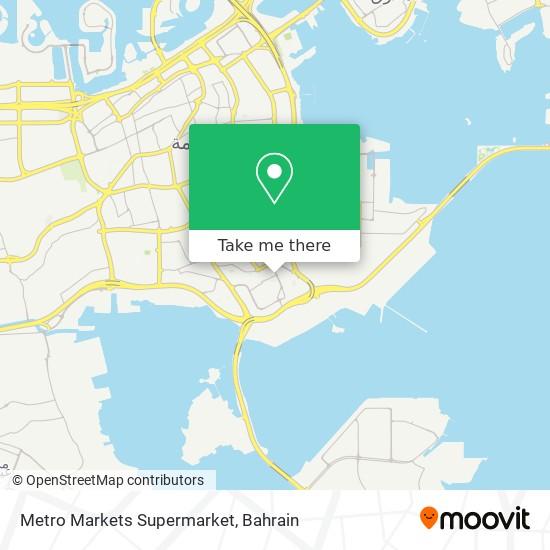Metro Markets Supermarket map