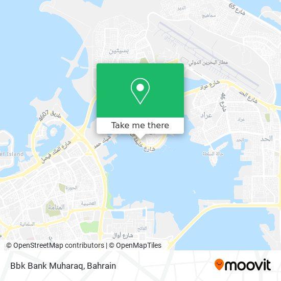 Bbk Online map