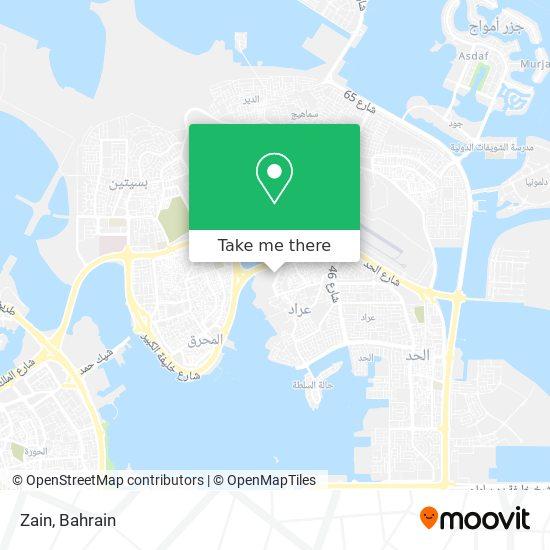 Zain map