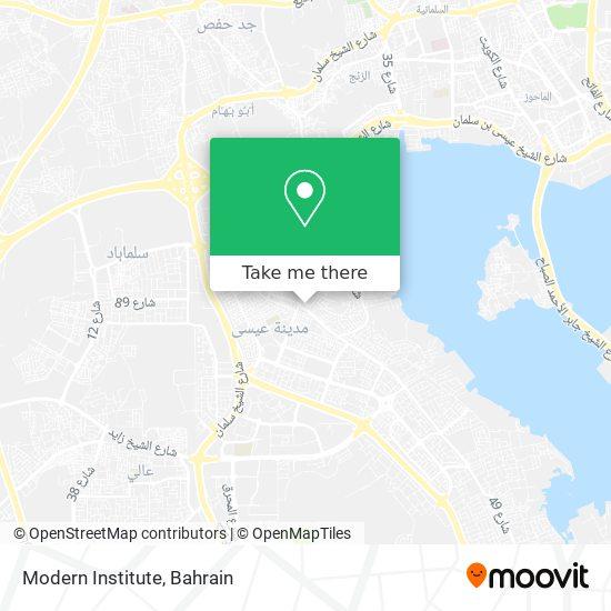 Modern Institute map