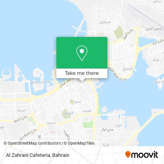 Al Zahrani Cafeteria map