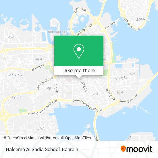 Haleema Al Sadia School map